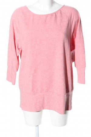 Tchibo / TCM Oversized Pullover pink meliert Casual-Look