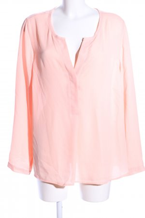 Tchibo / TCM Schlupf-Bluse pink Business-Look