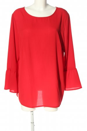 Tchibo / TCM Schlupf-Bluse rot Casual-Look