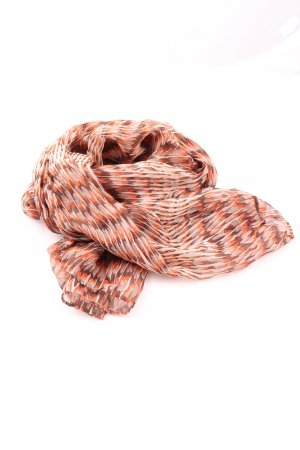 Tchibo / TCM Écharpe en soie imprimé allover style décontracté