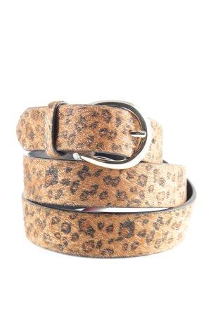 Tchibo / TCM Cintura in tessuto Stampa leopardata stile stravagante
