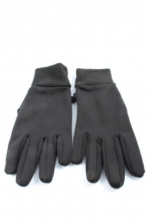 Tchibo / TCM Rękawiczki z dzianiny czarny W stylu casual