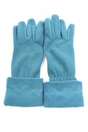 Tchibo / TCM Knitted Gloves blue casual look