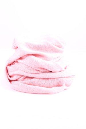 Tchibo / TCM Bufanda de punto rosa look casual