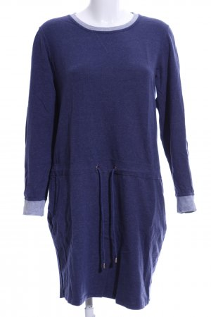 Tchibo / TCM Sweatkleid blau Casual-Look