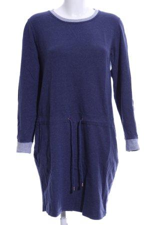 Tchibo / TCM Sweatkleid blau Casual-Look