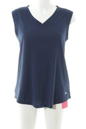 Tchibo / TCM T-Shirt dunkelblau sportlicher Stil