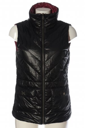 Tchibo / TCM Reversible Vest black quilting pattern casual look