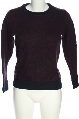 Tchibo / TCM Wollpullover lila Casual-Look