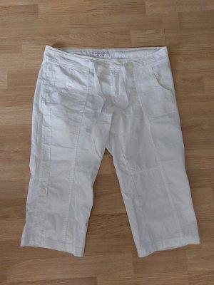 Tchibo / TCM 3/4 Length Trousers white