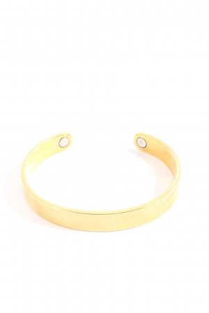 TCM Brazalete color oro look casual