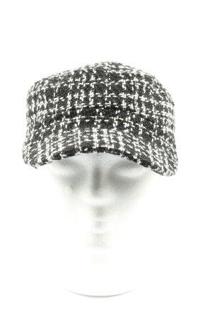 TCM Cappello da panettiere bianco-nero stile casual