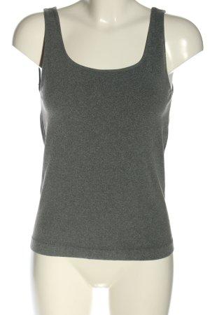 TCM Top basic grigio chiaro puntinato stile casual