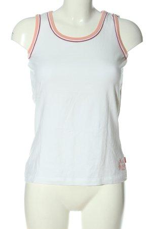 TCM Top basic bianco stile casual