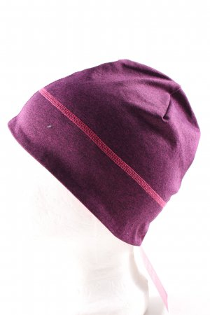 TCM Beanie pink-lila Allover-Druck Casual-Look