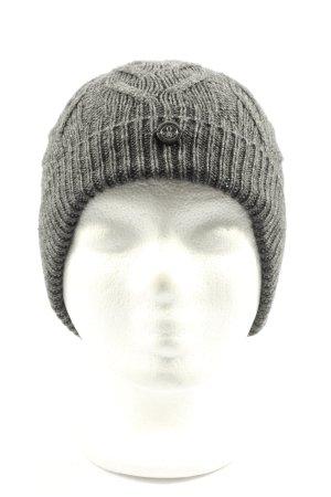 TCM Czapka typu beanie jasnoszary Warkoczowy wzór W stylu casual
