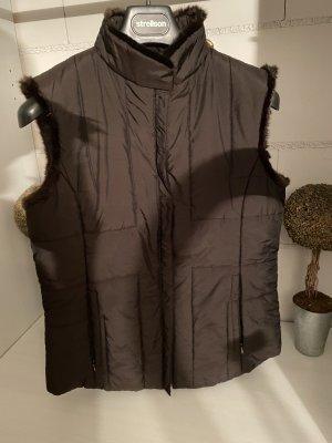 TCM Chaleco acolchado marrón oscuro