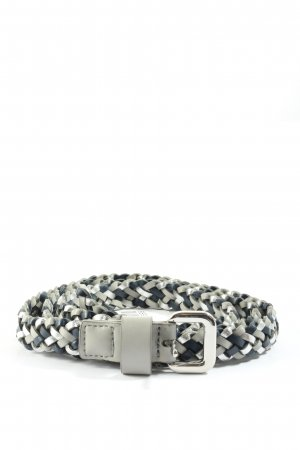 TCM Braided Belt light grey-blue casual look