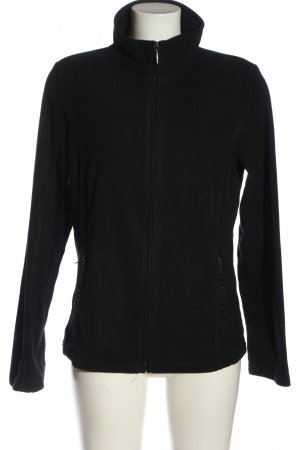 TCM Giacca in pile nero stile casual