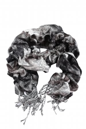 TCM Fringed Scarf abstract pattern casual look