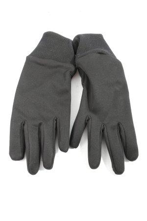TCM Gevoerde handschoenen lichtgrijs gestippeld patroon casual uitstraling