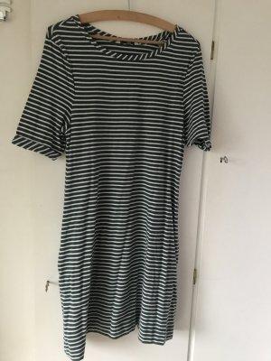 TCM gestreiftes Sweatkleid Kleid mit Taschen 36/38 Neu
