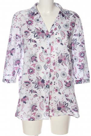 TCM Shirt Blouse white-pink allover print casual look