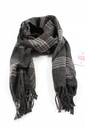TCM Cashmere Scarf light grey check pattern casual look
