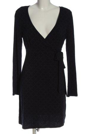 TCM Longsleeve Dress dark blue-black mixture fibre