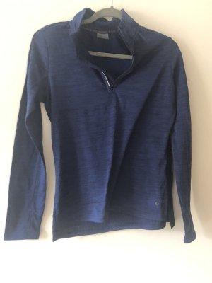 Tchibo / TCM Maglietta sport blu scuro-blu