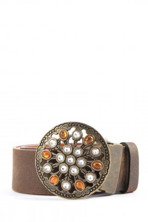 TCM Cintura di pelle marrone-bronzo stile casual