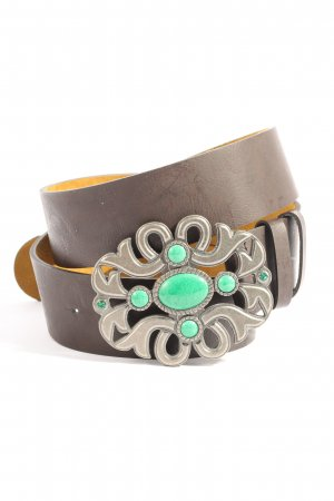 TCM Leather Belt light grey casual look