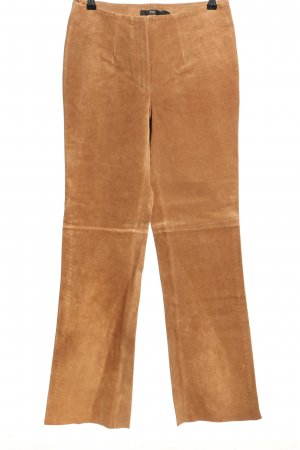 TCM Leather Trousers brown casual look