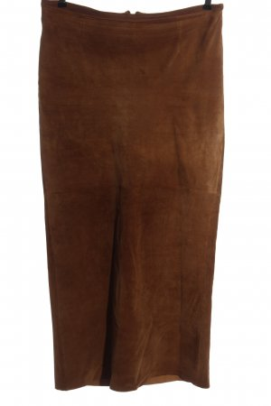 TCM Leather Skirt brown casual look