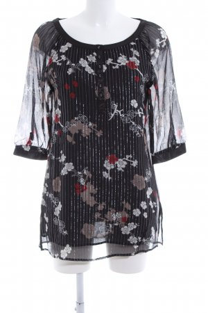TCM Long-Bluse Blumenmuster Party-Look