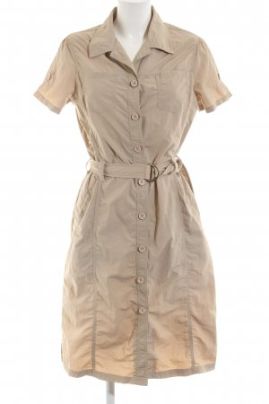 TCM Midikleid creme Casual-Look