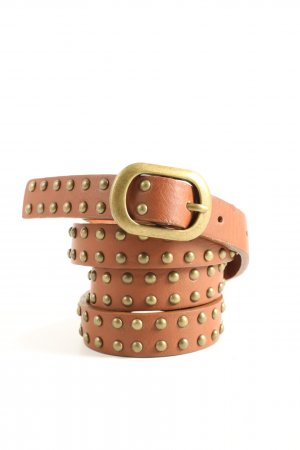 TCM Studded Belt brown-gold-colored casual look