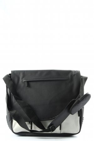 TCM Laptop bag black-cream casual look