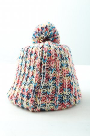 TCM Bobble Hat cable stitch casual look