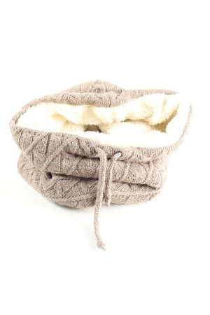 TCM Snood natural white cable stitch casual look