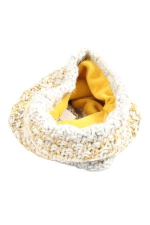 TCM Écharpe tube jaune primevère-blanc moucheté style décontracté