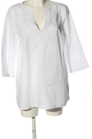TCM Schlupf-Bluse weiß Casual-Look