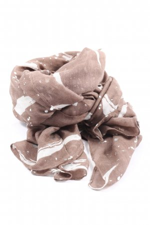 TCM Summer Scarf brown-white casual look