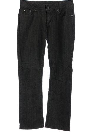 TCM Straight Leg Jeans black-white flecked casual look