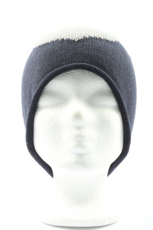 TCM Knitted Hat blue-white casual look