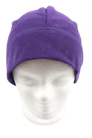 TCM Sombrero de punto lila look casual