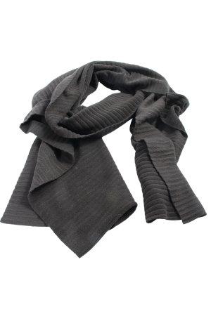 TCM Écharpe en tricot gris clair style décontracté