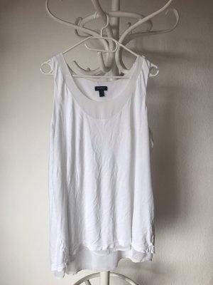 Tchibo / TCM Koszulka o kroju podkreślającym sylwetkę biały