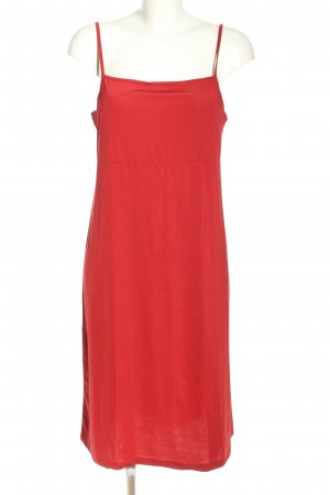 TCM Pinafore dress red casual look