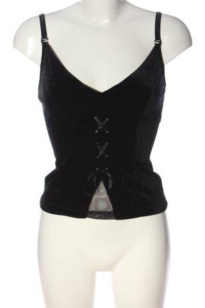 TCM Strappy Top black elegant